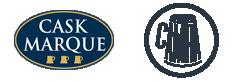 Cask Marque & Camra logos